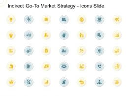 Indirect Go To Market Strategy Icons Slide Ppt Pictures Portrait