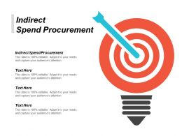 Indirect Spend Procurement Ppt Powerpoint Presentation Gallery Designs Download Cpb