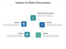 Indirect Vs Direct Procurement Ppt Powerpoint Presentation Show Cpb