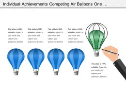 Individual Achievements Competing Air Balloons One Individual Winner