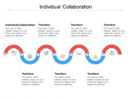 Individual Collaboration Ppt Powerpoint Presentation Sample Cpb