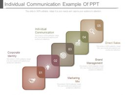 Individual Communication Example Of Ppt