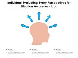 Individual Evaluating Every Perspectives For Situation Awareness Icon