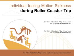 Individual Feeling Motion Sickness During Roller Coaster Trip