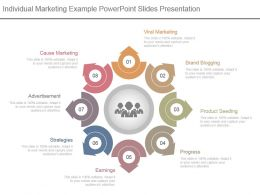 Individual Marketing Example Powerpoint Slides Presentation