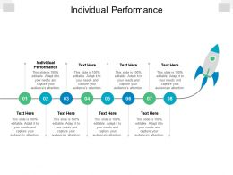 Individual Performance Ppt Powerpoint Presentation Inspiration Information Cpb