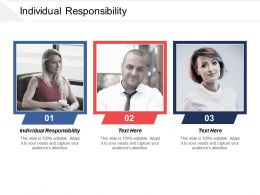 Individual Responsibility Ppt Powerpoint Presentation Icon Example File Cpb