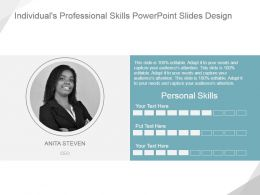 Individuals Professional Skills Powerpoint Slides Design