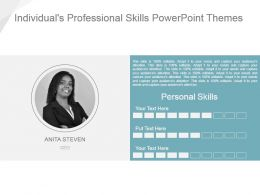 Individuals Professional Skills Powerpoint Themes