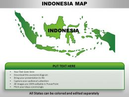 Indonesia Country PowerPoint Maps