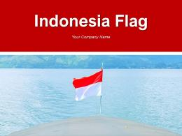 Indonesia Flag Waterfall Beach Location Crowd Pointer