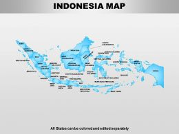 Indonesia Powerpoint Maps