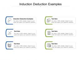 Induction Deduction Examples Ppt Powerpoint Presentation File Pictures Cpb