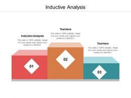 Inductive Analysis Ppt Powerpoint Presentation Infographic Template Good Cpb