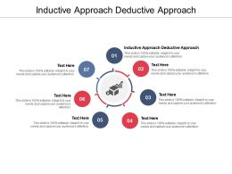 Inductive Approach Deductive Approach Ppt Powerpoint Presentation Ideas Graphic Tips Cpb