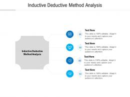 Inductive Deductive Method Analysis Ppt Powerpoint Presentation Slides Graphics Example Cpb