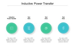 Inductive Power Transfer Ppt Powerpoint Presentation Icon Visual Aids Cpb