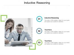Inductive Reasoning Ppt Powerpoint Presentation Pictures Styles Cpb
