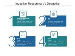 Inductive Reasoning Vs Deductive Ppt Powerpoint Presentation Pictures Diagrams Cpb