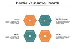 Inductive Vs Deductive Research Ppt Powerpoint Presentation Infographics Infographics Cpb