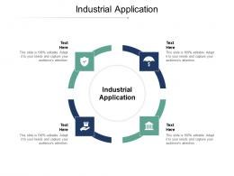 Industrial Application Ppt Powerpoint Presentation Ideas Layout Ideas Cpb