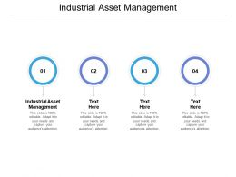 Industrial Asset Management Ppt Powerpoint Presentation Slides Show Cpb
