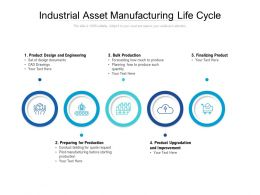 Industrial Asset Manufacturing Life Cycle