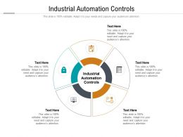 Industrial Automation Controls Ppt Powerpoint Presentation Styles Layout Ideas Cpb