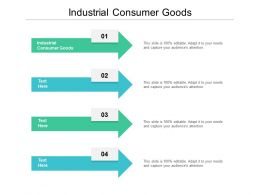 Industrial Consumer Goods Ppt Powerpoint Presentation Gallery Elements Cpb