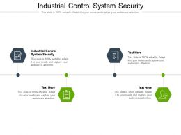 Industrial Control System Security Ppt Powerpoint Presentation File Themes Cpb