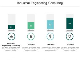 Industrial Engineering Consulting Ppt Powerpoint Presentation Styles Pictures Cpb