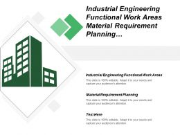 Industrial Engineering Functional Work Areas Material Requirement Planning