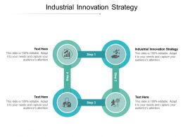Industrial Innovation Strategy Ppt Powerpoint Presentation Icon Vector Cpb