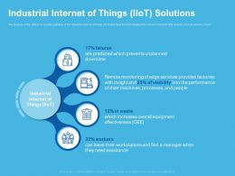 Industrial Internet Of Things Iiot Solutions Assistance Ppt Powerpoint Presentation Rules