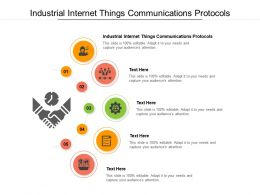Industrial Internet Things Communications Protocols Ppt Powerpoint Presentation File Formats Cpb