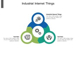 Industrial Internet Things Ppt Powerpoint Presentation Infographics Portfolio Cpb