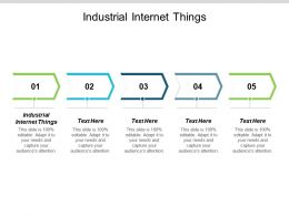Industrial Internet Things Ppt Powerpoint Presentation Portfolio Inspiration Cpb