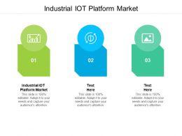 Industrial IOT Platform Market Ppt Powerpoint Presentation Ideas Background Cpb