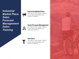 Industrial Market Place Sales Forecast Management Sales Training