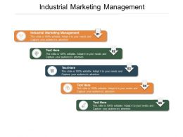 Industrial Marketing Management Ppt Powerpoint Presentation Layouts Deck Cpb