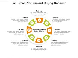 Industrial Procurement Buying Behavior Ppt Powerpoint Presentation Outline Topics Cpb