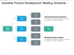 Industrial Product Development Meeting Schedule Template Pygmalion Effect Cpb