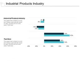 Industrial Products Industry Ppt Powerpoint Presentation Styles Example File Cpb