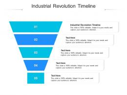 Industrial Revolution Timeline Ppt Powerpoint Presentation Styles Icon Cpb