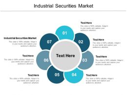 Industrial Securities Market Ppt Powerpoint Presentation Infographic Template Sample Cpb