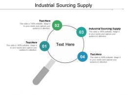 Industrial Sourcing Supply Ppt Powerpoint Presentation Pictures Elements Cpb