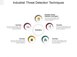 Industrial Threat Detection Techniques Ppt Powerpoint Presentation Gallery Model Cpb