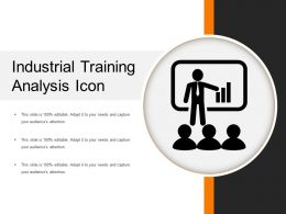 Industrial Training Analysis Icon