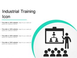 Industrial Training Icon
