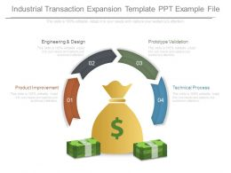 Industrial Transaction Expansion Template Ppt Example File